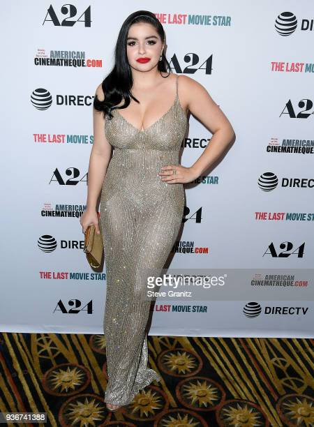 Ariel Winter arrives at the A24 And DirecTV's 'The Last Movie Star' at the Egyptian Theatre on March 22 2018 in Hollywood California