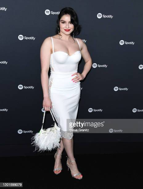 Ariel Winter arrives at the Spotify Best New Artist 2020 Party at The Lot Studios on January 23, 2020 in Los Angeles, California.