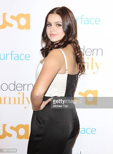 Ariel Winter arrives at USA Network Hosts Modern Family fan appreciation day held at Westwood Village Theatre on October 28 2013 in Westwood...