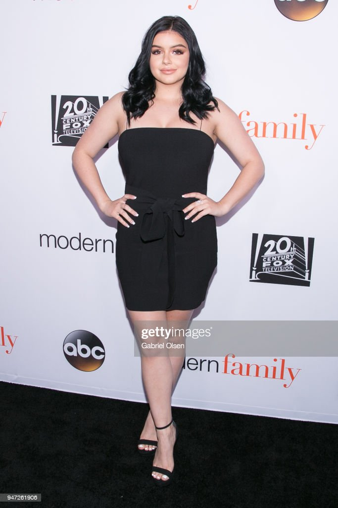 Ariel Winter arrives for the FYC Event for ABC's 'Modern Family' at Avalon on April 16, 2018 in Hollywood, California.