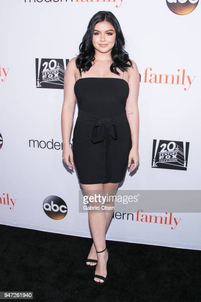 Ariel Winter arrives for the FYC Event for ABC's 'Modern Family' at Avalon on April 16 2018 in Hollywood California