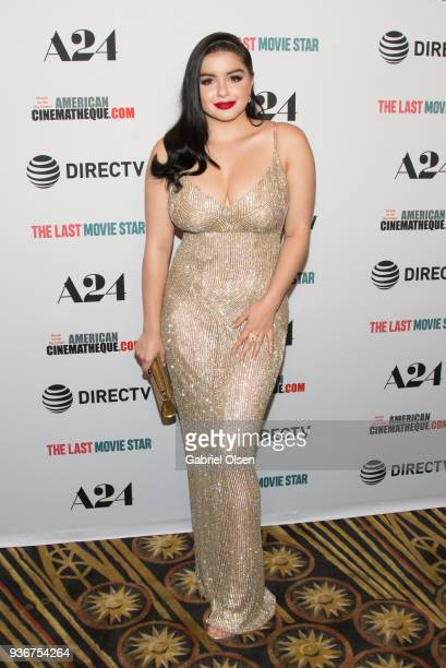 Ariel Winter arrives to A24 And DirecTV's 'The Last Movie Star' Premiere at the Egyptian Theatre on March 22 2018 in Hollywood California