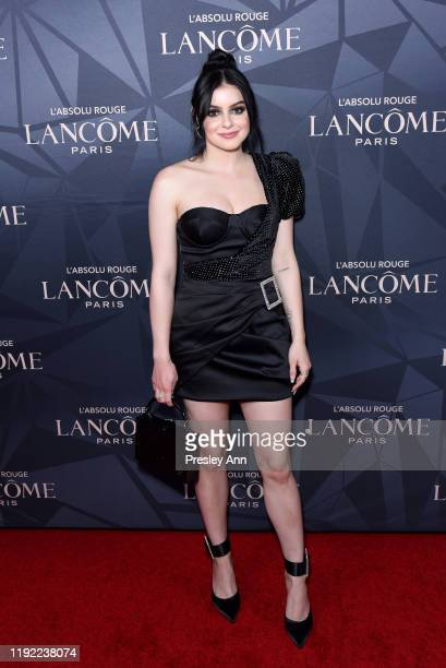 Ariel Winter attends Lancôme x Vogue L'Absolu Ruby Holiday Event at Raspoutine on December 05, 2019 in West Hollywood, California.