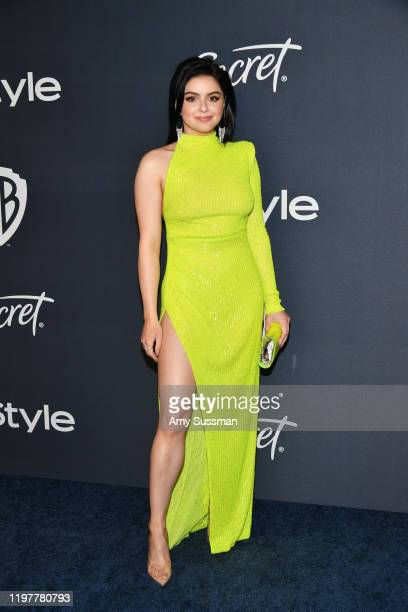 Ariel Winter attends the 21st Annual Warner Bros. And InStyle Golden Globe After Party at The Beverly Hilton Hotel on January 05, 2020 in Beverly...