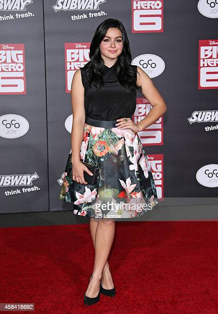 """Ariel Winter attends the Disney's """"Big Hero 6"""" Los Angeles Premiere held at the El Capitain Theater on November 4, 2014 in Hollywood, California."""