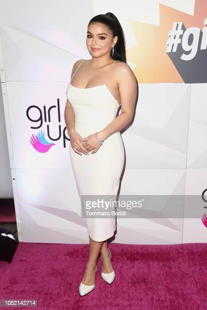 Ariel Winter attends the Girl Up's Inaugural #GirlHero Awards Luncheon at SLS Hotel on October 14 2018 in Beverly Hills California