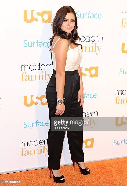 Ariel Winter attends the Modern Family Fan Appreciation Day hosted by USA Network held at Westwood Village Theatre on October 28 2013 in Westwood...