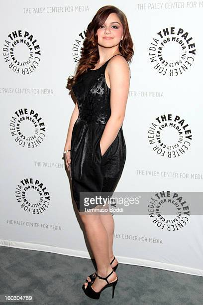 Ariel Winter attends The Paley Center for Media and Warner Bros Home Entertainment present Batman The Dark Knight Returns Part 2 premiere held at The...