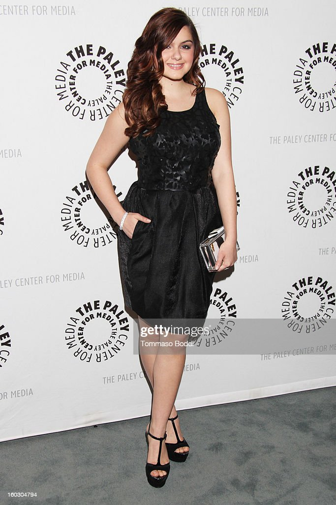 Ariel Winter attends The Paley Center for Media and Warner Bros. Home Entertainment present 'Batman: The Dark Knight Returns - Part 2' premiere held at The Paley Center for Media on January 28, 2013 in Beverly Hills, California.