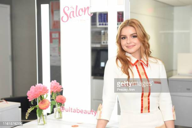 Ariel Winter for The Salon at Ulta Beauty New Signature Blowout Menu Launch on July 11, 2019 in Westwood, California.
