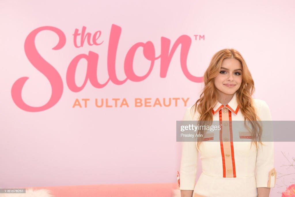 Ariel Winter for The Salon at Ulta Beauty New Signature Blowout Menu Launch... : News Photo