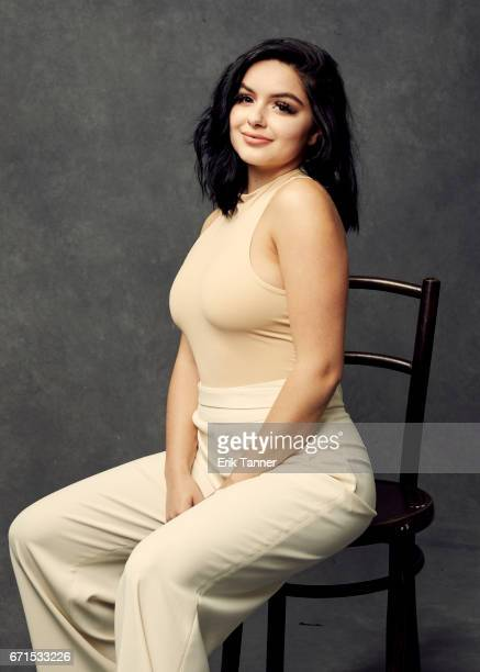 Ariel Winter from 'Dog Years' poses at the 2017 Tribeca Film Festival portrait studio on April 21 2017 in New York City