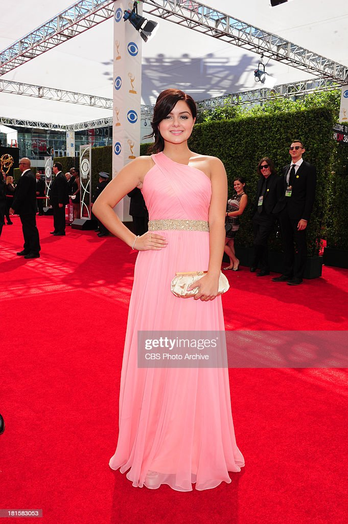 Ariel Winter from Modern Family on the red carpet for the 65th Primetime Emmy Awards which will be broadcast live across the country 8:00-11:00 PM ET/ 5:00-8:00 PM PT from NOKIA Theater L.A. LIVE in Los Angeles, Calif., on Sunday, Sept. 22 on the CBS Television Network.