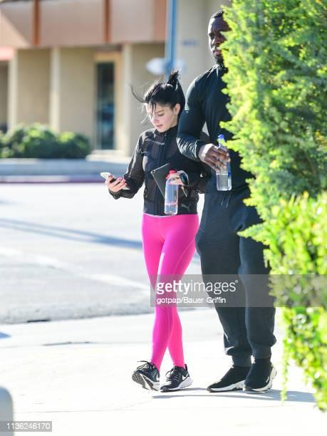 Ariel Winter is seen on April 10 2019 in Los Angeles California