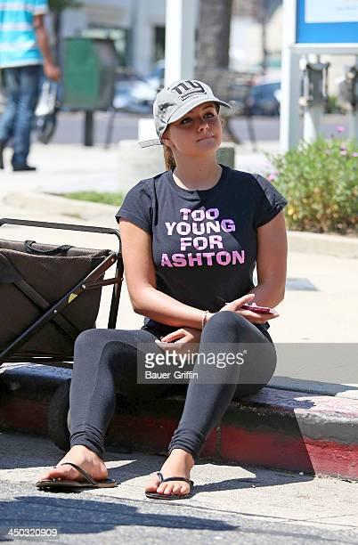 Ariel Winter is seen on August 11 2013 in Los Angeles California