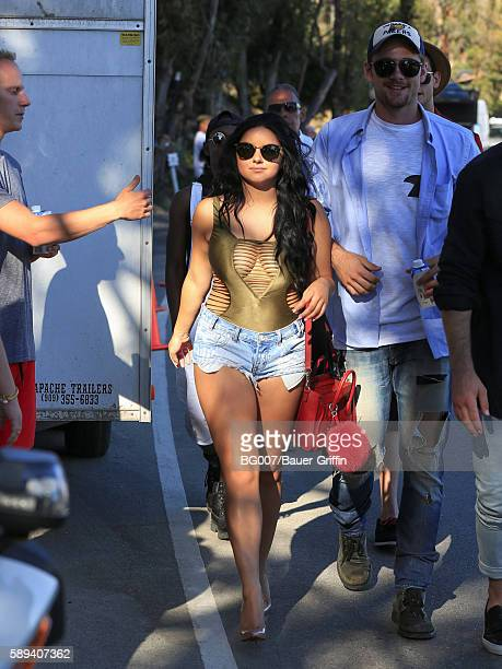 Ariel Winter is seen on August 13 2016 in Los Angeles California