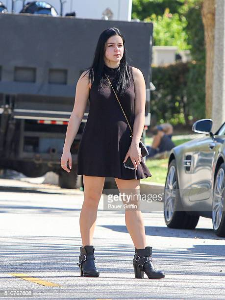 Ariel Winter is seen on February 16 2016 in Los Angeles California