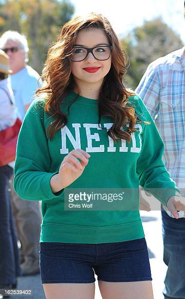Ariel Winter is seen on February 24 2013 in Los Angeles California