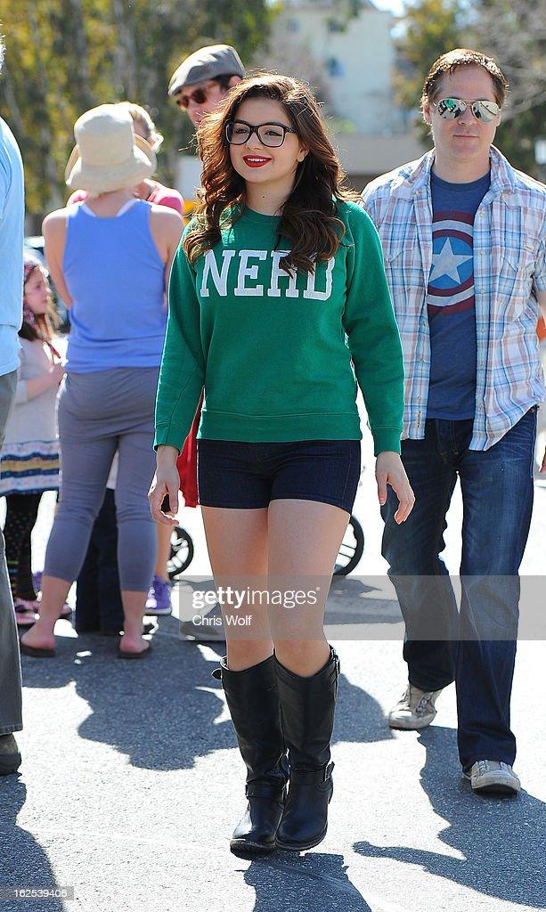 Ariel Winter is seen on February 24, 2013 in Los Angeles, California.