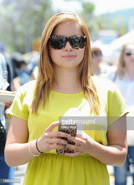 Ariel Winter is seen on May 26 2013 in Los Angeles California