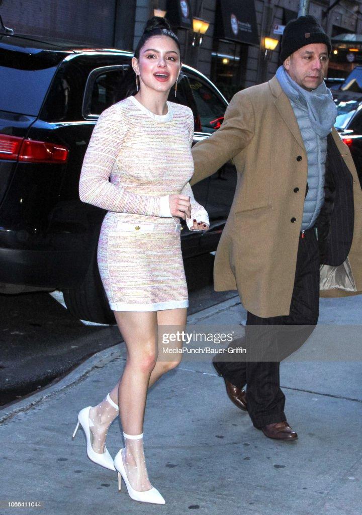 Celebrity Sightings In New York - November 29, 2018 : News Photo