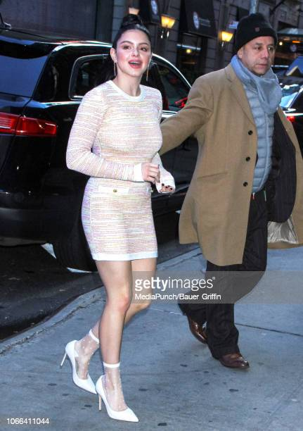 Ariel Winter is seen on November 29 2018 in New York City