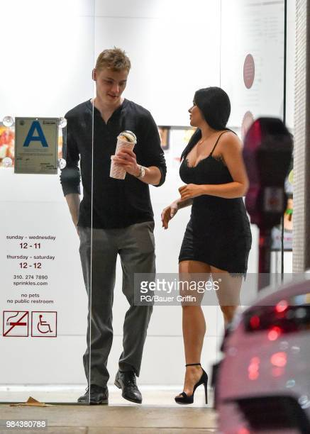 Ariel Winter is seen with Levi Meaden on June 25 2018 in Los Angeles California