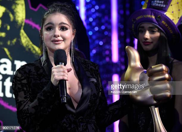 Ariel Winter onstage at Dick Clark's New Year's Rockin' Eve with Ryan Seacrest 2018 on December 31 2017 in Los Angeles California