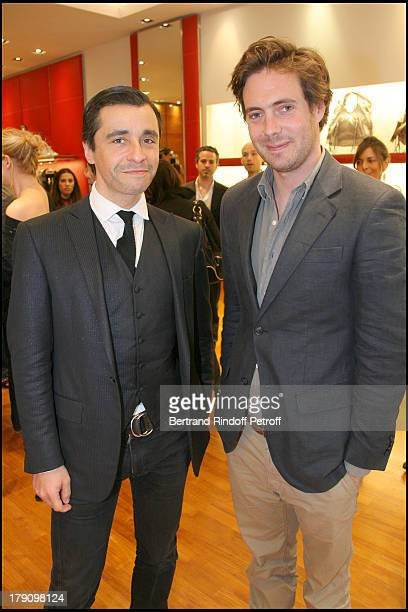 """Ariel Wizman and Arthur De Kersauson at Hogan Boutique Charity Party To Benefit """"Best Buddies""""."""