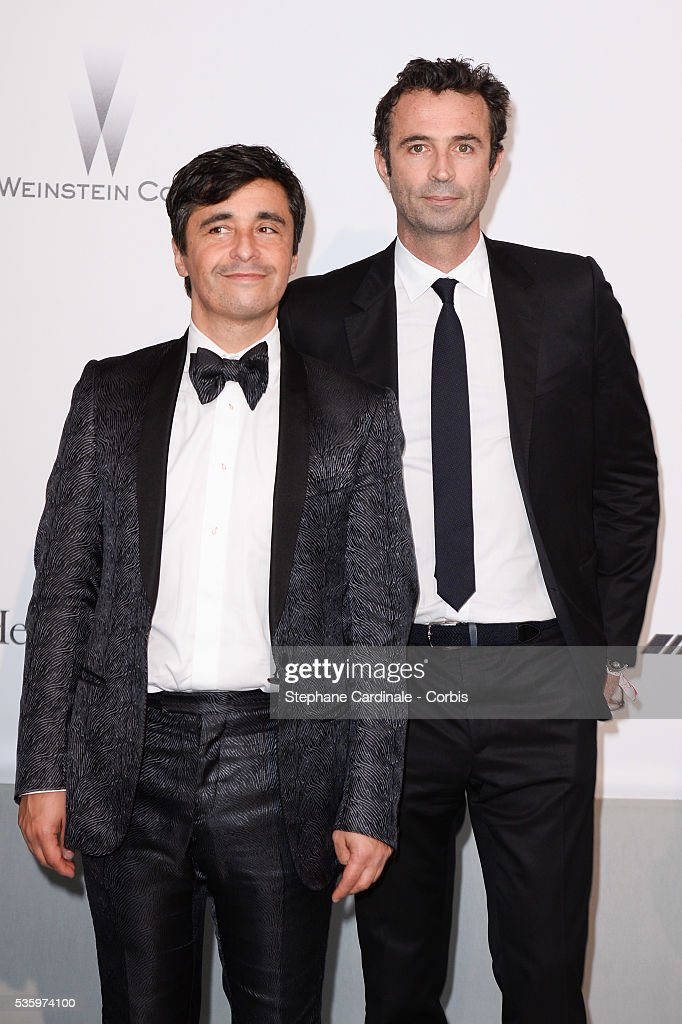 Ariel Wizman and Victor Robert at the amfAR's 21st Cinema Against AIDS Gala at Hotel du Cap-Eden-Roc during the 67th Cannes Film Festival
