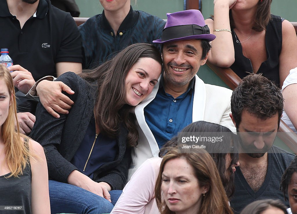 Ariel Wizman attends Day 8 of the French Open 2014 held at Roland-Garros stadium on June 1, 2014 in Paris, France.
