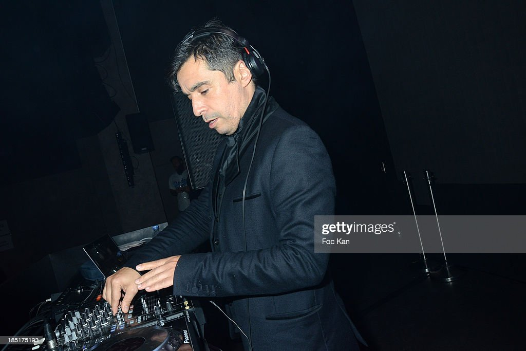 Ariel Wizman performs during the 'Tete D Affiche', DJ Booking Agency