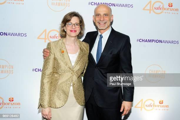 Ariel Zwang and Mark Freedman attend Safe Horizon's Champion Awards at The Ziegfeld Ballroom on May 15, 2018 in New York City.