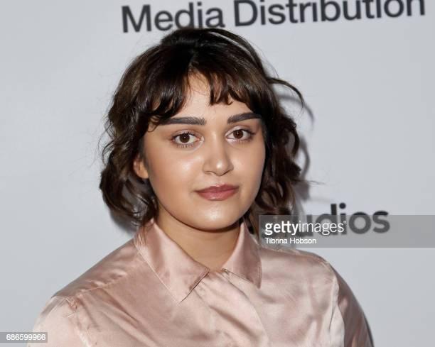 Ariela Barer attends the 2017 ABC/Disney Media Distribution International Upfronts at Walt Disney Studio Lot on May 21 2017 in Burbank California