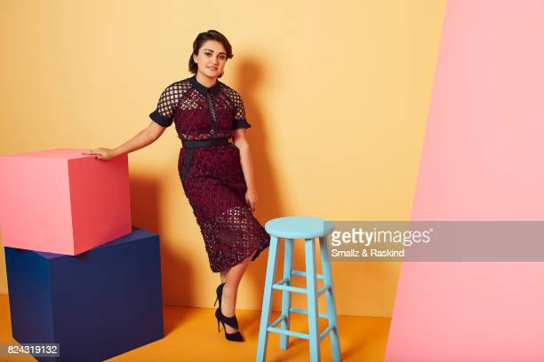 Ariela Barer of Hulu's 'Marvel's Runaways' poses for a portrait during the 2017 Summer Television Critics Association Press Tour at The Beverly...