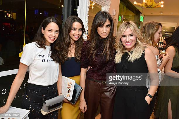 Ariella Feldman Tiffany Bensley Mandana Dayani and Alli Webb attend the the LA Launch of Alli Webb's book 'The Drybar Guide to Good Hair For All' at...