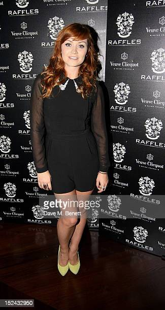 Ariella Free attends as Raffles hosts 'The Autumn Party' featuring Noisettes on September 20 2012 in London England