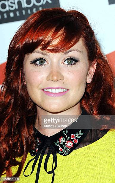 Ariella Free attends The Look Show in association with Smashbox Cosmetics at Royal Courts of Justice Strand on October 6 2012 in London England