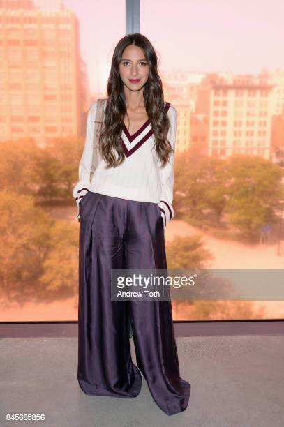 Arielle Charnas attends Zimmermann fashion show during New York Fashion Week The Shows at Spring Studios on September 11 2017 in New York City