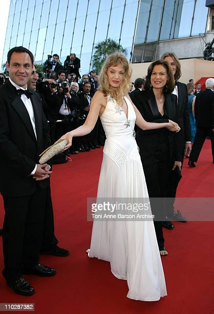 Arielle Dombasle during 2006 Cannes Film Festival Marie Antoinette Premiere at Palais des Festival in Cannes France