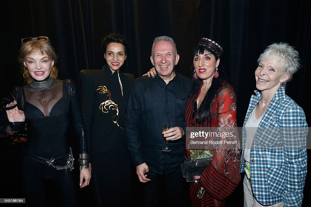 Jean Paul Gaultier : Front Row - Paris Fashion Week - Haute Couture Fall/Winter 2016-2017