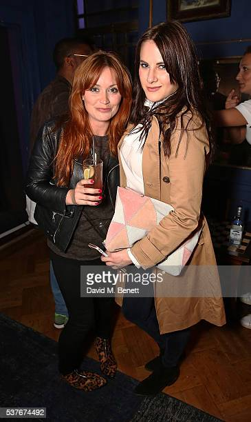 Arielle Free and guest attend True Religion House Party at 48 Greek Street on June 2 2016 in London England