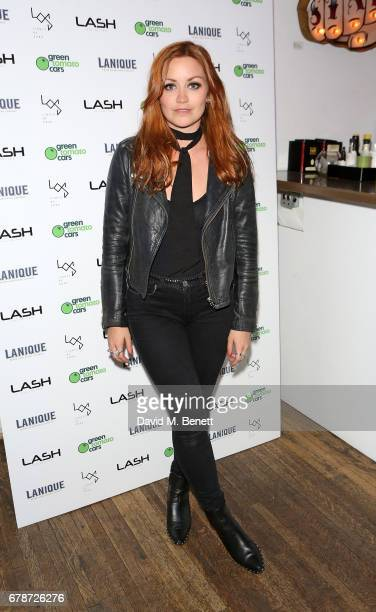 Arielle Free attends Lash Unlimited's 1st birthday party at Lights Of Soho on May 4 2017 in London England