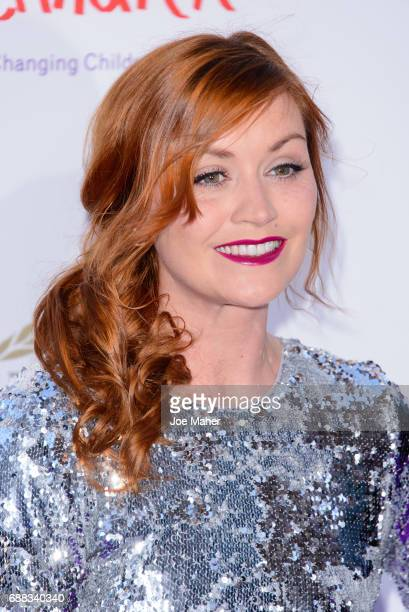 Arielle Free attends the Caudwell Children Butterfly Ball at Grosvenor House on May 25 2017 in London England