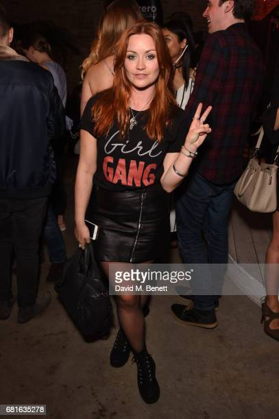 Arielle Free attends The CocaCola Beach Club Summer Party at Kachette on May 10 2017 in London England