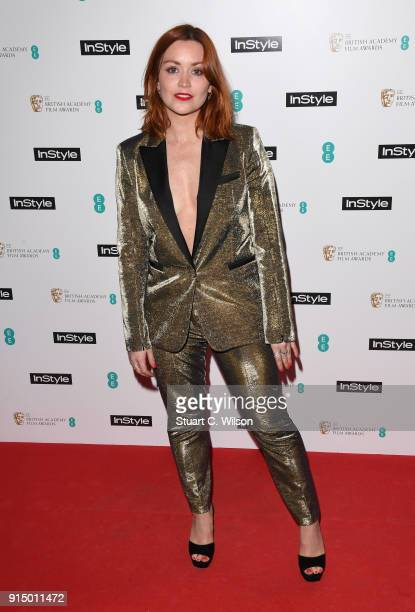 Arielle Free attends the EE InStyle Party held at Granary Square Brasserie on February 6 2018 in London England