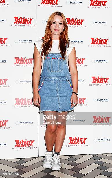 Arielle Free attends the gala screening of 'Asterix The Mansions of the Gods' at Picturehouse Central on August 7 2016 in London England