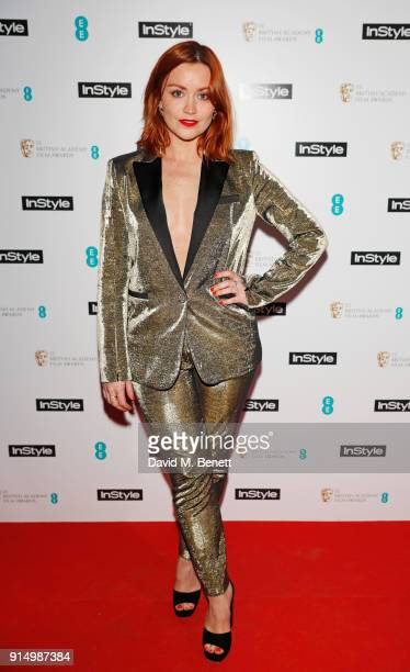 Arielle Free attends the InStyle EE Rising Star Party at Granary Square on February 6 2018 in London England