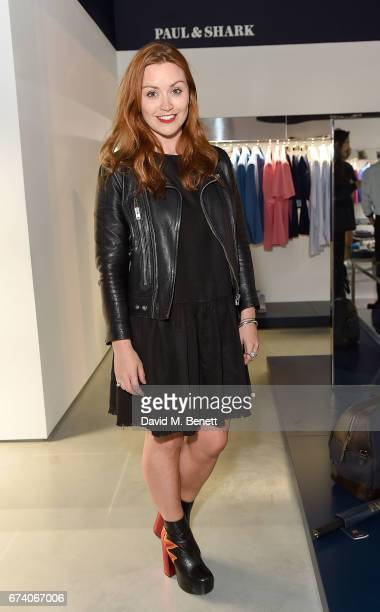 Arielle Free attends the launch of the Paul Shark Regent Street Store on April 27 2017 in London England