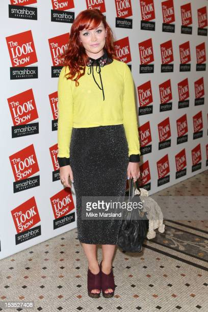 Arielle Free attends The Look Show in association with Smashbox Cosmetics at Royal Courts of Justice Strand on October 6 2012 in London England
